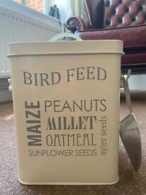 Burgon & Ball birdseed tin
