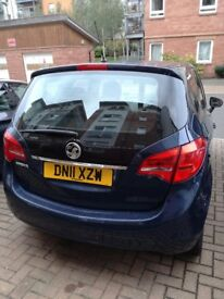 2011 VAUXHALL MERIVA GOOD CONDITION MANUAL