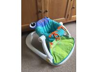 Fisher Price sit me up floor chair baby support