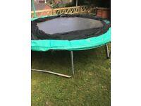 Galvanized Steel Round Trampoline without Safety Net Enclosure