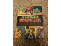 Regrettable Supervillains hardback book exclusively from Lootcrate