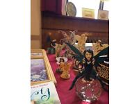 Collection of fairies/dragons/spiritual items