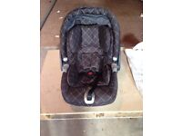 Mamas & papas Branded - childs Car seat ,vgc but now surplus to requirements