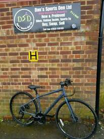 RIDGEBACK VANTEO METRO HYBRID BIKE..EXCELLENT CONDITION GREAT QUALITY