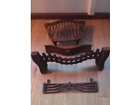 old (original?) grate and accessories for small victorian fireplace