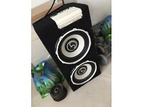 Subwoofer speaker BASEFACE POWER12.2 2600W TWIN 12Inch ACTIVE
