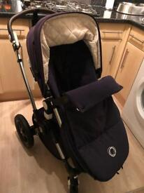 Bugaboo Camelion 3rd special edition navy blue warranty and receipt