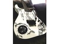 Metallica kirk hammett ESP ouija guitar