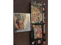 3x collectible jigsaw puzzles