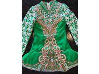 Beautiful Irish Dancing Costume.