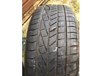 255 45 20 GOODYEAR EXCELLENCE TYRE WITH 7mm TREAD. £75!!!