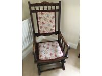 Antiques Wooden Rocking Chair