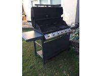 John Lewis 6 burner gas BBQ