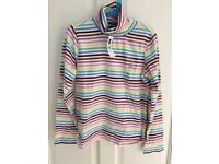GAP striped polo neck, age 12-13 years, NEW WITH TAGS