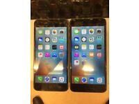 I Phone 6 plus 16GB EE,T mobile & Virgin Good Condition Black clour