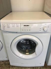 Bush washing machine 6kg white