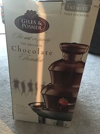 Giles and posner stainless steel chocolate fountain
