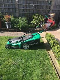 Lawnmower. Aldi. £40. Electric rotary. Excellent condition.