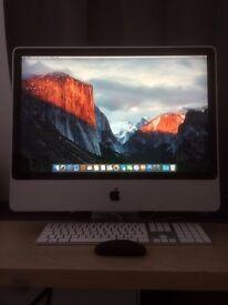 "24"" Apple iMac + MACKIE ONYX Satellite Firewire Interface"