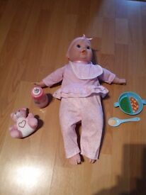 Emmi interactive baby doll and accessories
