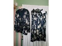 Size 26 skirt and top set