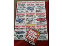 What Car magazines December 2013 to August 2014 10 issues & 1 pull out