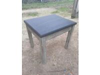 Upcycled, shabby chic, oak table.