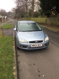 Ford Focus ghia blue. 2keys. Green slip only. And tested and insurance still active