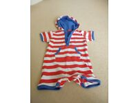 Two 9-12 month romper suits