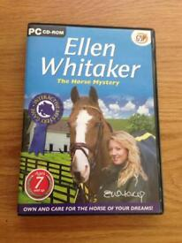 Ellen Whittaker 'The horse mystery' game, cd-rom new £3.99 ideal Xmas gift