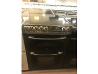 60CM BROWN CREDA ELECTRIC COOKER DOUBLE OVEN