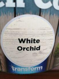 Garden colour paint 2.5l Orchid white