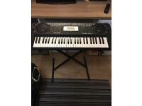 Electric keyboard with stand no note-stand 1st to see will buy