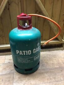 13kg Propane / Patio / BBQ gas bottle - Almost full