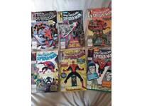 23 Spectacular Spiderman Comics Inc. lmt edition silver cover no. 200