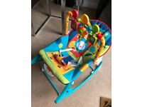 Fisher Price infant to toddler rocker / massage chair