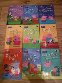 Hard back Peppa Pig books in excellent condition