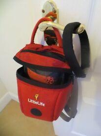 Little life ladybird toddler reins / backpack