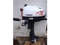 Yamaha 6hp 2hrs use