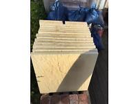 Rockriven buff slabs x 16 (brand new)