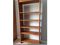 Bookshelf Solid Pine