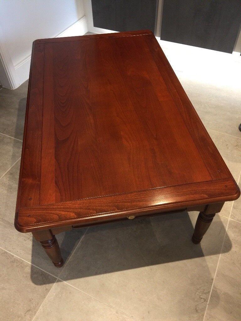 Selva italian mahogany coffee table