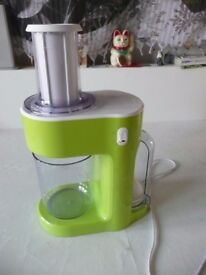 Silver Crest Spiralizer (Electric), only used twice. £12.