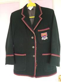 Albyn School girl blazer, with dry clearn tag on.