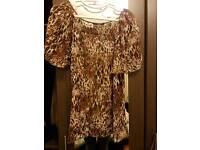 Leopard print tshirt