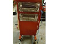 Red Rad Heaters industrial garsges workshops homes etc bargain be quick