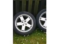 Alloy wheels off rover streetwise 16inch