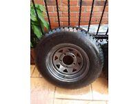 Land Rover Defender 90 Wheels +Tyers × 5