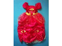 M&S Disney Belle Dressing Up Dress Age 5-6 Years IP1
