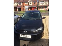 VW Golf 1.4TSI. Black. 59 plate. 7 service stamps from VW garages. Great condition.
